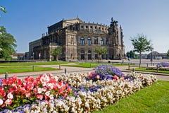 sławny Dresden semperoper Obrazy Stock