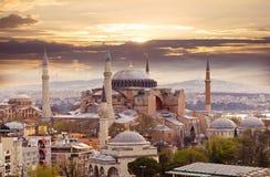 sławny hagia sophia Istanbul obrazy royalty free