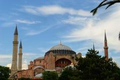 s?awny hagia sophia Istanbul zdjęcia stock