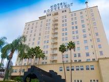 Sławny Hollywood hotel Roosevelt Zdjęcia Stock