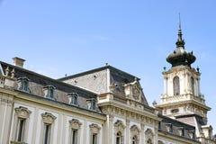 Sławny kasztel w Keszthely Obraz Royalty Free