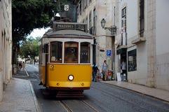Sławny Lisbon tramwaj Fotografia Royalty Free