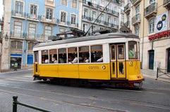 Sławny Lisbon tramwaj Obraz Stock