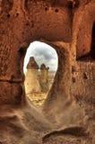 Sławny miasto Cappadocia w Turcja Obrazy Royalty Free