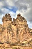 Sławny miasto Cappadocia w Turcja Obrazy Stock