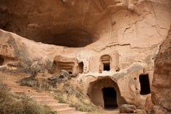 Sławny miasto Cappadocia w Turcja Zdjęcia Royalty Free