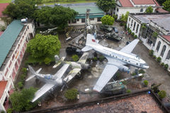 Sławny Militarnej historii muzeum w Hanoi Zdjęcia Royalty Free