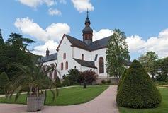 S?awny monasteru eberbach blisko eltville Hesse Germany obrazy royalty free