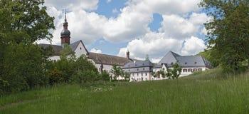 S?awny monasteru eberbach blisko eltville Hesse Germany obrazy stock
