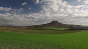 Sławny Oblik wzgórze w jesieni zbiory