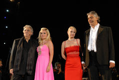 Andrea Bocelli & przyjaciele Obrazy Stock