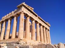 Sławny Parthenon, Ateny Zdjęcie Royalty Free