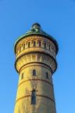 Sławny watertower w Biebrich, Zdjęcia Stock