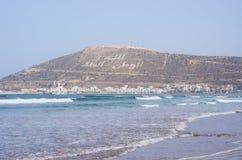 Sławny wzgórze w Agadir, Maroko - Zdjęcia Stock