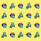 90s background style. Icon vector illustration graphic design Stock Illustration