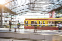 The s-bahn in berlin germany Royalty Free Stock Images