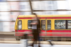 A s-bahn in berlin germany Royalty Free Stock Image
