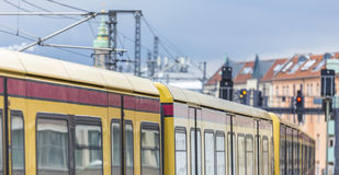 An s-bahn in berlin germany Stock Photography