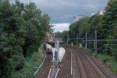 S-Bahn i Berlin Fotografering för Bildbyråer