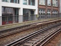 S Bahn (S Train) in Hamburg Stock Photography