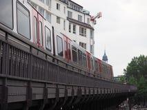 S Bahn (S Train) in Hamburg Stock Images