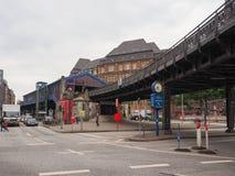 S Bahn (S Train) in Hamburg Royalty Free Stock Photography