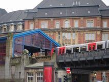 S Bahn S Train in Hamburg Royalty Free Stock Image