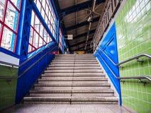 S Bahn (S Train) in Hamburg hdr Stock Photography