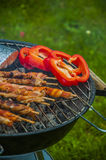 It's barbecue time! Stock Images