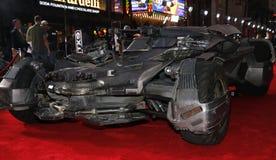 ` S Batmobile de League de justice Photo stock