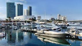 ` S Bayside de Miami Image stock