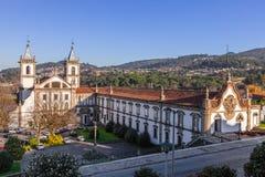 S Bento-Kloster in Santo Tirso Stockfotografie