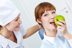 s biurowy stomatology Zdjęcie Royalty Free