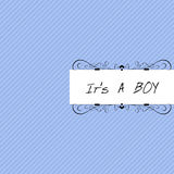 It's a Boy royalty free stock photo