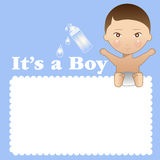 It's a boy Stock Images