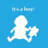 It's a boy Royalty Free Stock Images