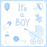 It's a boy. Stock Image