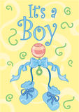 It's a boy royalty free stock photography