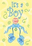 It's a boy. ! design Stock Illustration
