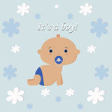 It's a boy stock illustration