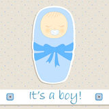 Its a boy Royalty Free Stock Photo