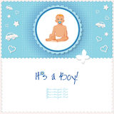 It's a boy card or background. Stock Photo