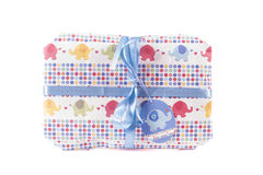 It's a Boy Parcel. A parcel for a boys christening or a birthing present for a newborn Royalty Free Stock Photos