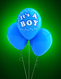 It's a boy party balloon Royalty Free Stock Photography