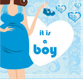It`s A boy! Stock Image