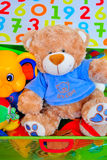 It's a boy teddy bear toy Stock Photography