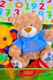 It's a boy teddy bear toy. A stuffed teddy bear toy for boys Stock Photography