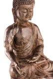 ` S Buddhas Shakyamuni Zahl in einer Segenhaltung - Oberteilansicht lizenzfreie stockfotos