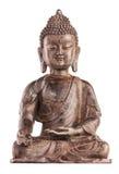 ` S Buddhas Shakyamuni Zahl in varada mudra stockbild