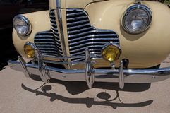 1940's Buick Front Grill Stock Photo
